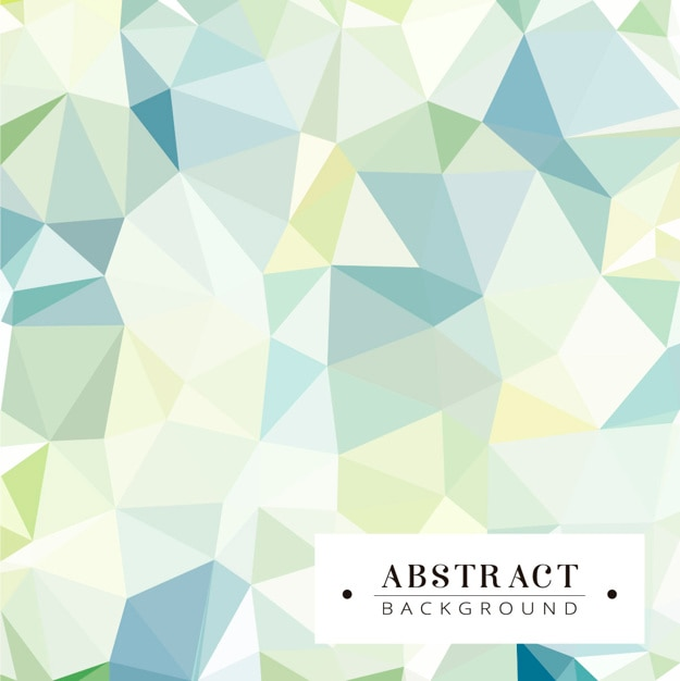 Cute polygonal background  Free Vector