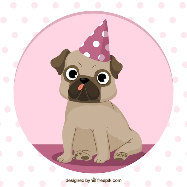 Free Download: party,circle,hand,dog,animal,hand drawn,cute,happy,colorful,pet,hat,drawing,fun,funny,hand drawing,cute animals,cool,drawn,lovely,puppy