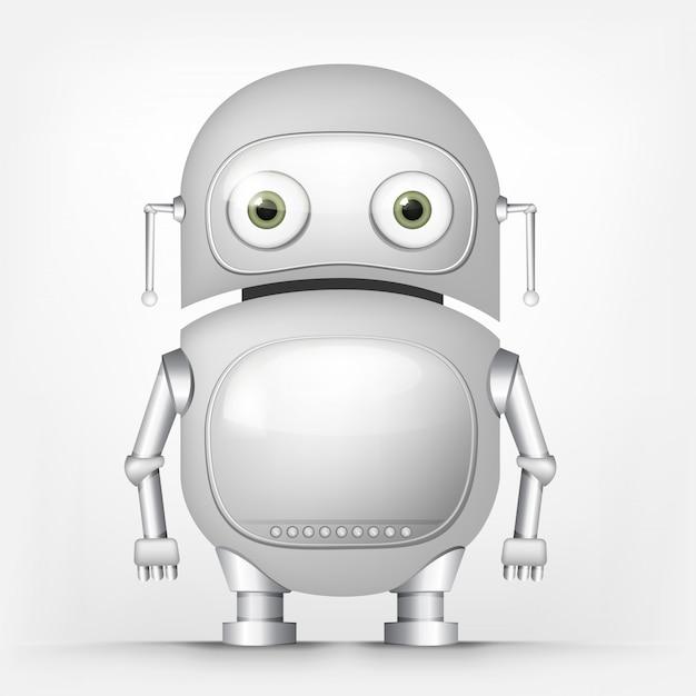 Cute robot Premium Vector