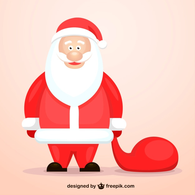 Cute Santa Claus cartoon