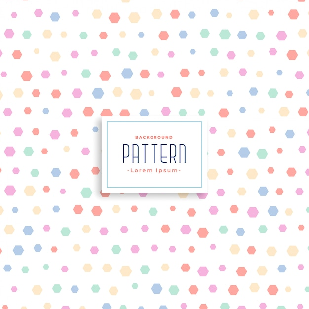 Cute soft kids style pattern background Free Vector