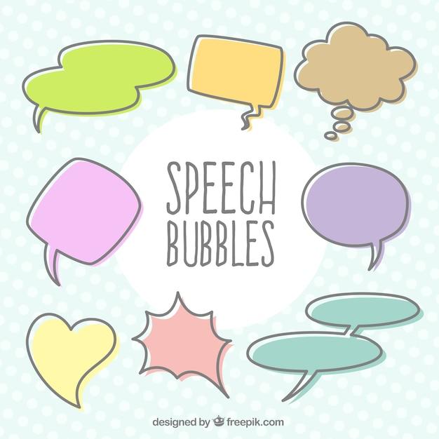 Quote Bubble Cute Cute speech bubbles Ve...