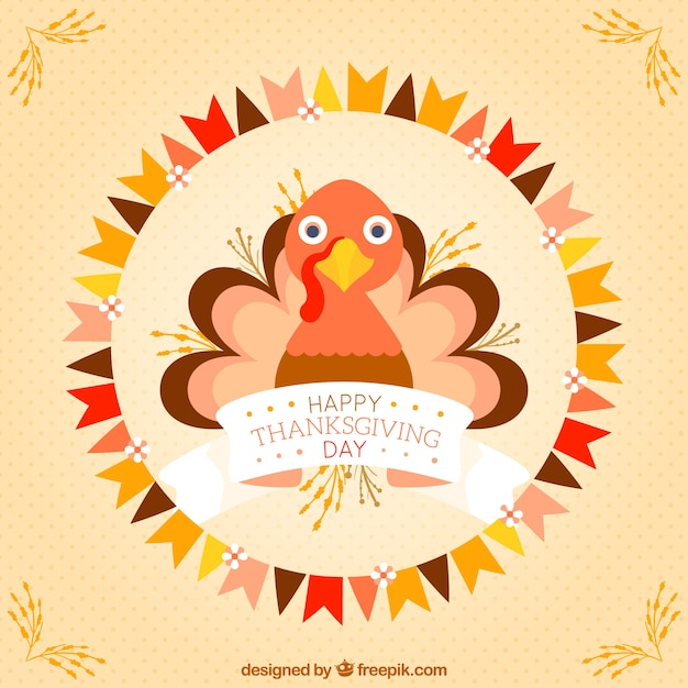 Premium Vector Cute Thanksgiving Turkey