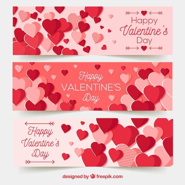 Cute Valentine Banners   Valentine Photo