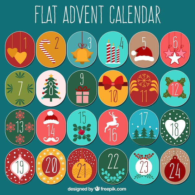 Typography Advent Calendar : Advent vectors photos and psd files free download