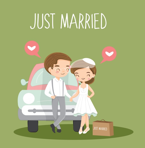 """Funny Vintage Photographs of """"Just Married"""" Wedding Cars ...  Vintage Just Married"""
