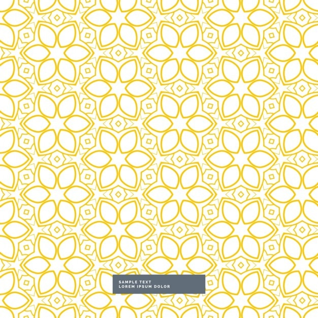 Yellow and white pattern background - photo#12