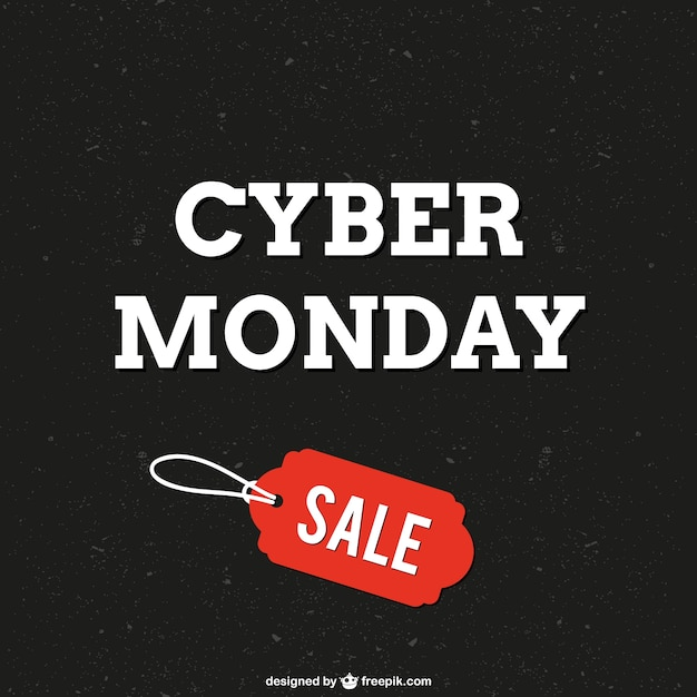 Cyber monday sale vector Free Vector