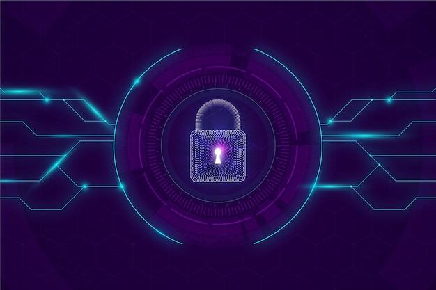Concetto di sicurezza informatica Vettore gratuito