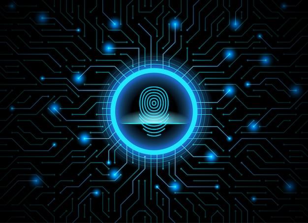 Cyber security Premium Vector