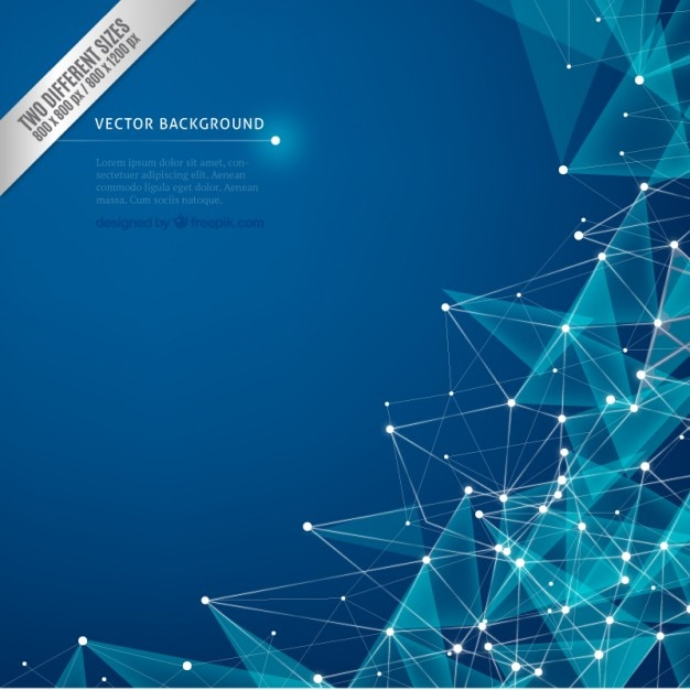 Cybernetic background  Free Vector