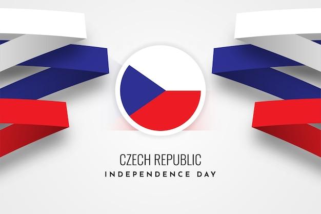 День независимости чешской республики Premium векторы