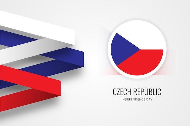 День независимости чехии Premium векторы