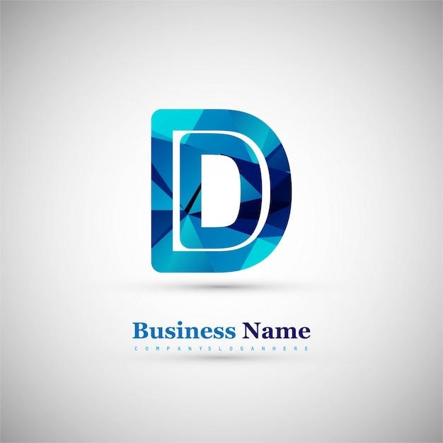 Символ буквы d Бесплатные векторы