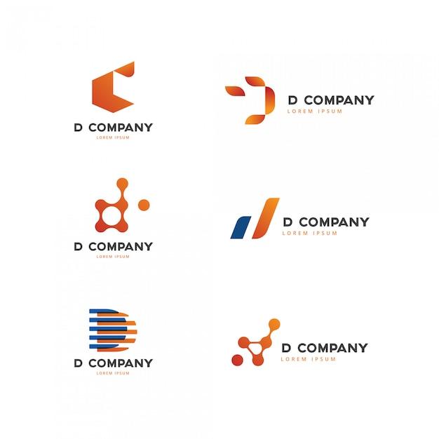 頭文字dロゴコレクション Premiumベクター