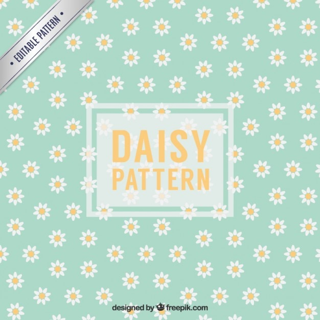 daisy pattern vector free download