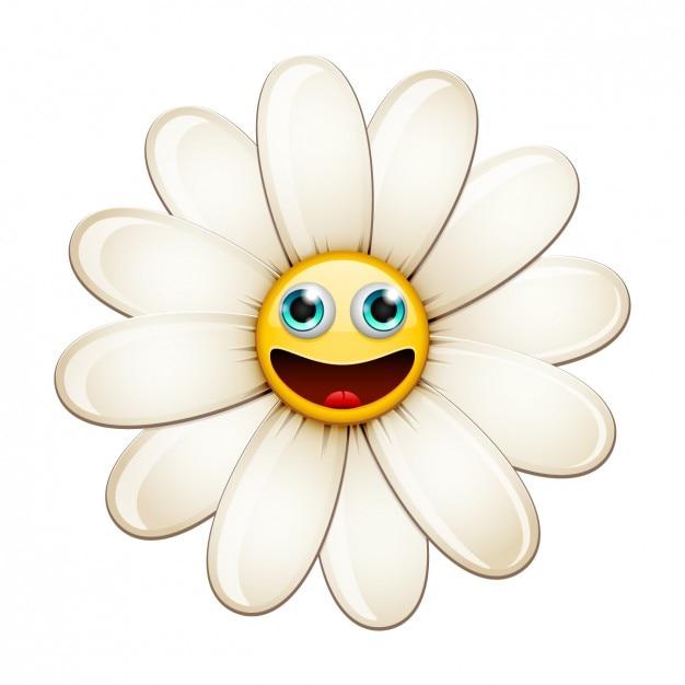 Daisy with happy face illustration vector free download daisy with happy face illustration free vector voltagebd Choice Image