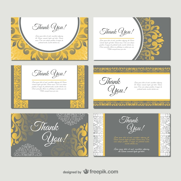 Damask style business card templates vector free download damask style business card templates free vector wajeb Gallery