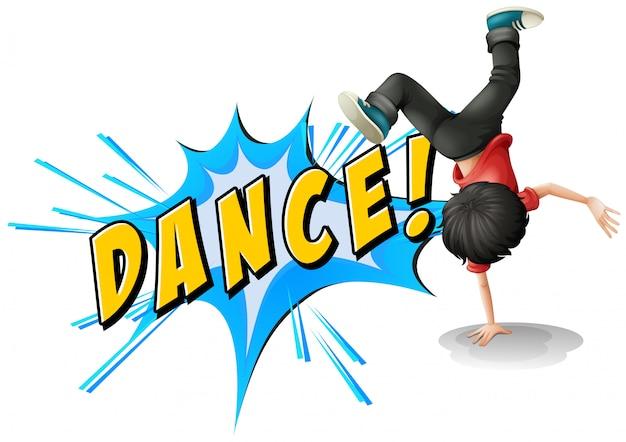 Dance flash Free Vector