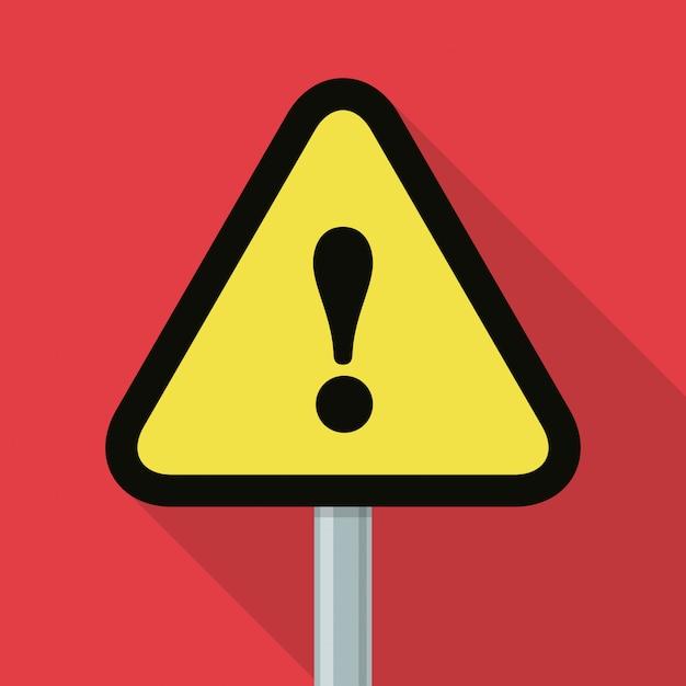 Danger advert design. Premium Vector