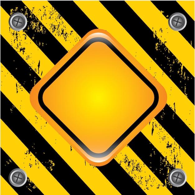 Danger signal Premium Vector