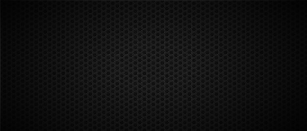 Dark abstract background with holes Premium Vector