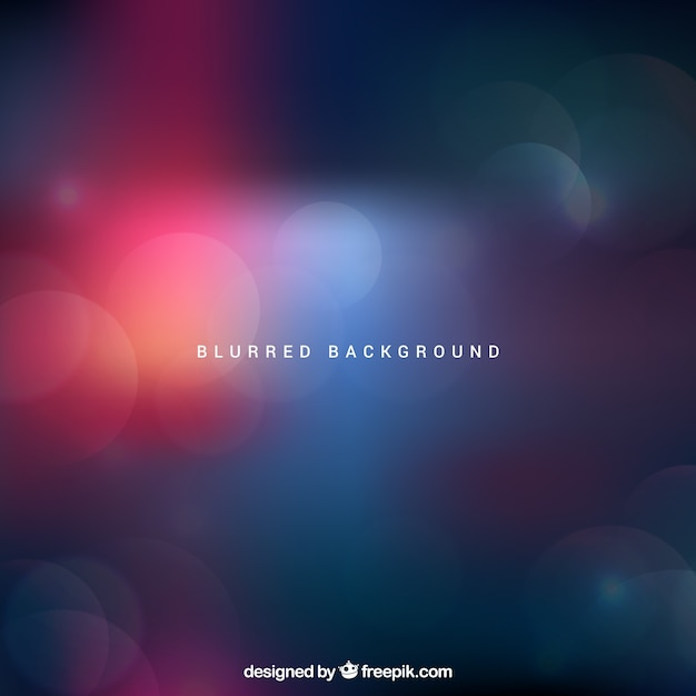 Dark abstract blurred background Free Vector