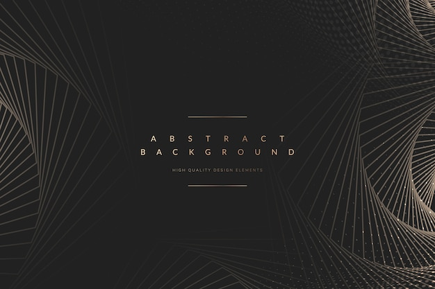 Dark abstract tech background Free Vector
