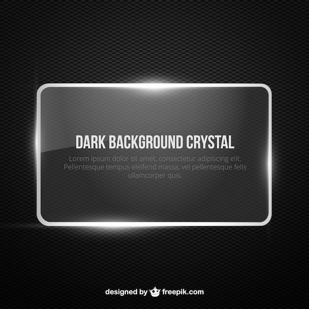 Dark background banner Vector   Free Download
