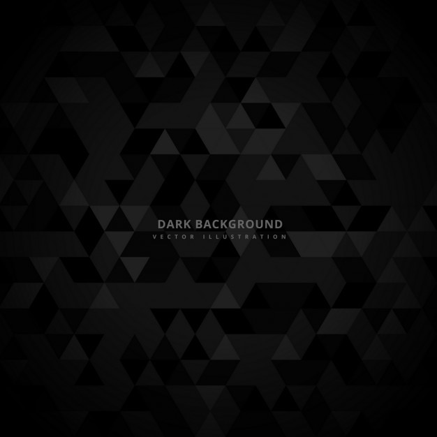 dark background with little triangles vector free download