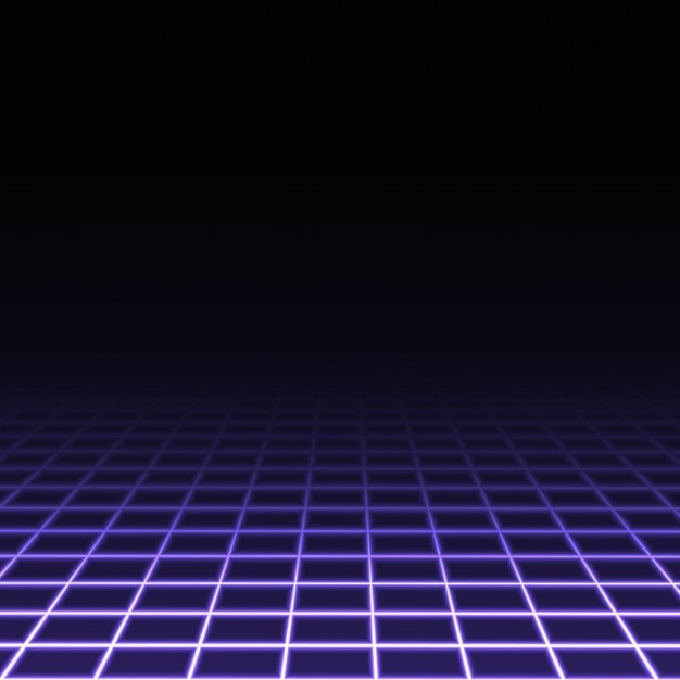 Dark background with purple squares Vector | Free Download
