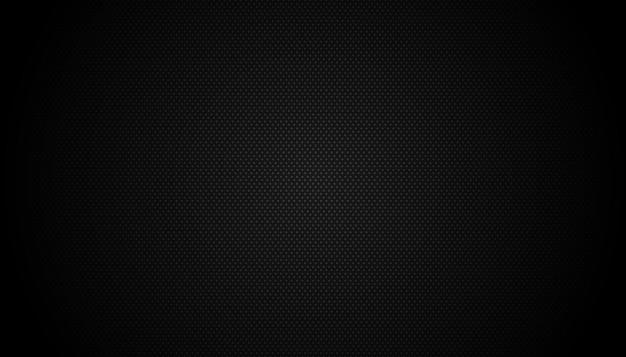 Dark black geometric grid background modern dark abstract vector texture Premium Vector