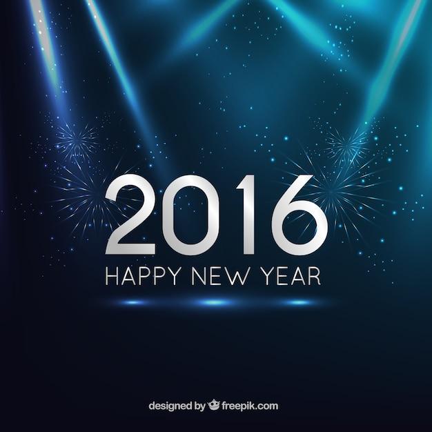 dark blue new year background free vector