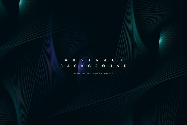 Dark blue tech background Free Vector