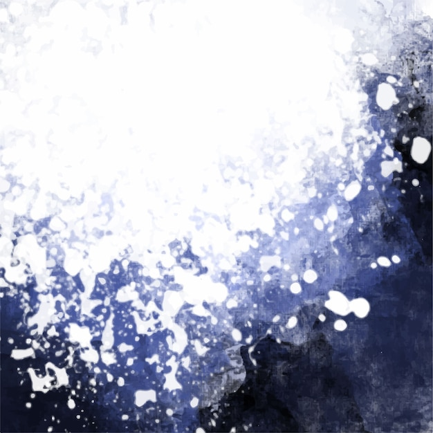 Dark blue watercolor background Vector | Free Download