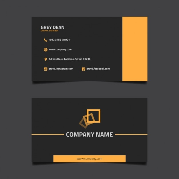 make business cards online free download