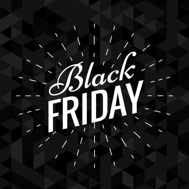 Dark elegant black friday background Vector : Free Download