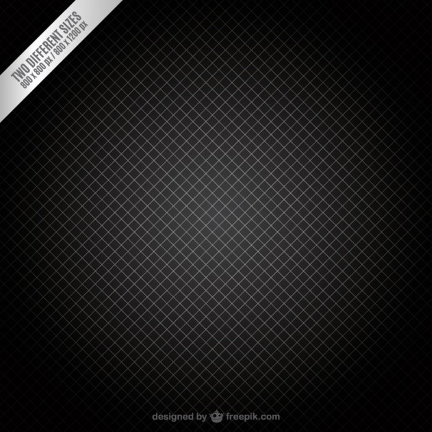 Dark grid background Free Vector