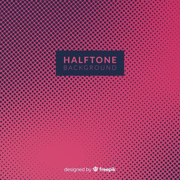 Dark halftone background Free Vector