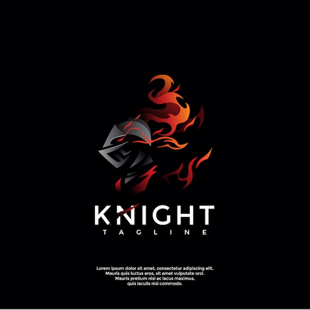 premium vector dark knight logo template https www freepik com profile preagreement getstarted 6924730
