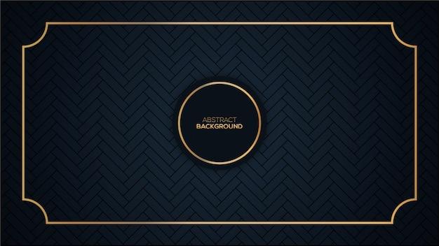 Dark luxury background Premium Vector