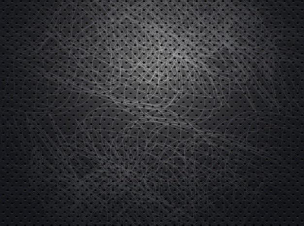 Dark Metallic Pattern Background Vector