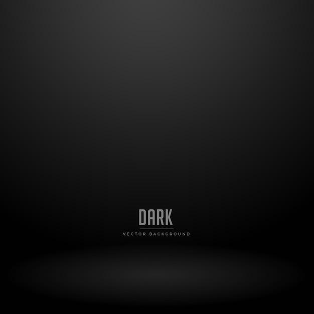 Sfondo scuro camera studio vettoriale Vettore gratuito