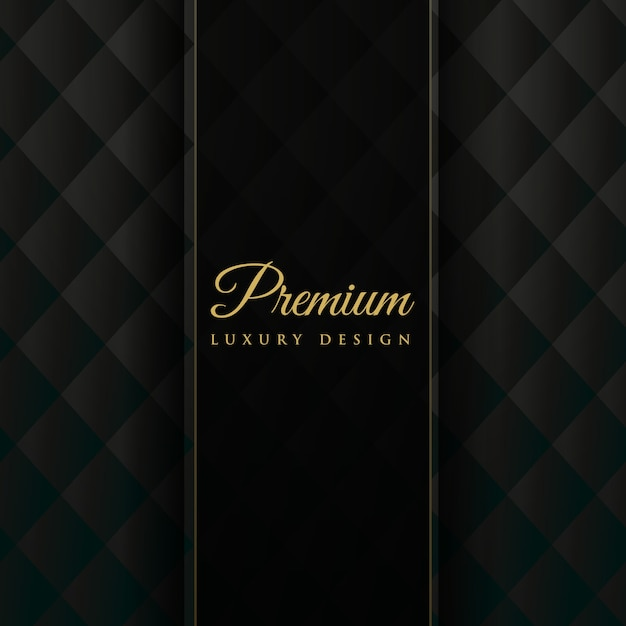 Dark upholstery premium invitation background Free Vector