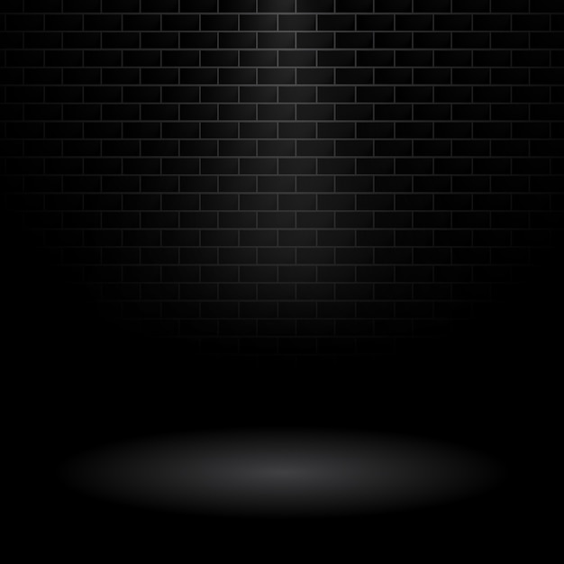 Dark wall background Free Vector