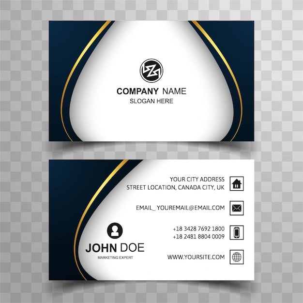 Visiting Card Design Vectors, Photos And Psd Files | Free Download
