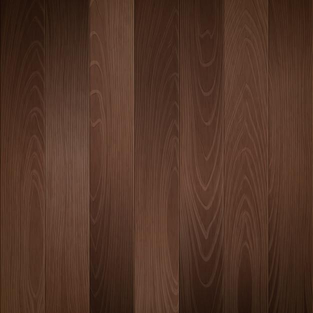 Dark wood background Premium Vector
