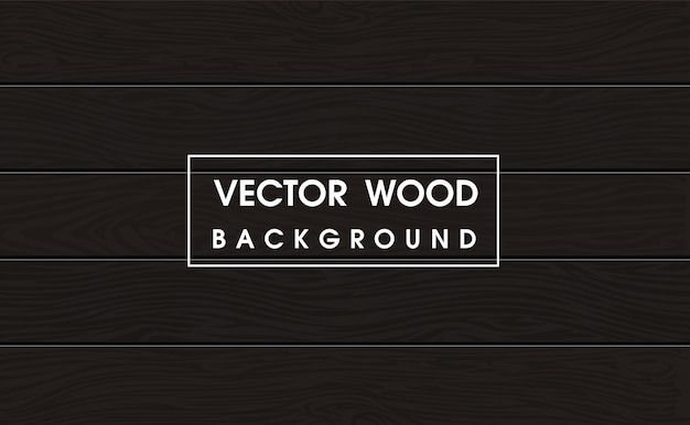 Dark wood surface in the top view background. Premium Vector