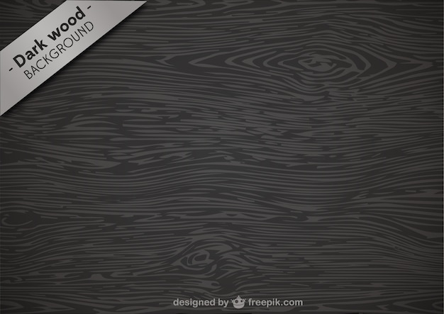Dark wood texture Free Vector