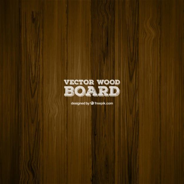 Dark wooden board texture Free Vector